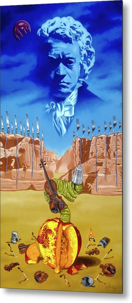 The Last Soldier An Ode To Beethoven Metal Print