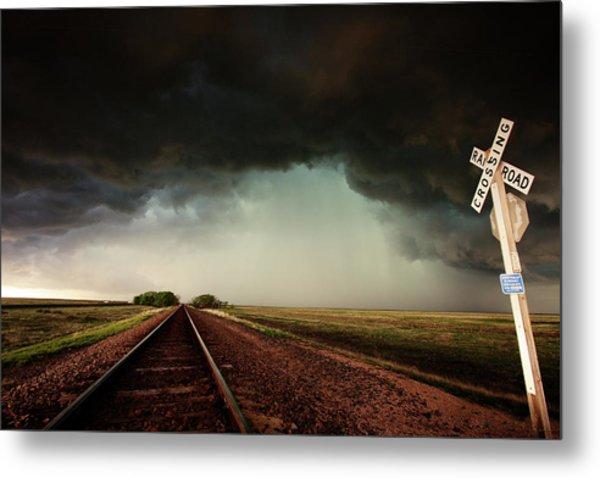 The Last Train To Darksville Metal Print
