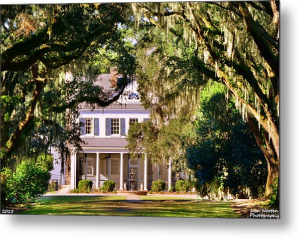 Metal Print featuring the photograph The Legare-waring House At Charles Town Landing by Lisa Wooten