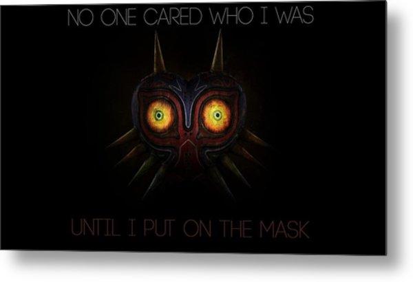 The Legend Of Zelda Majora's Mask Metal Print