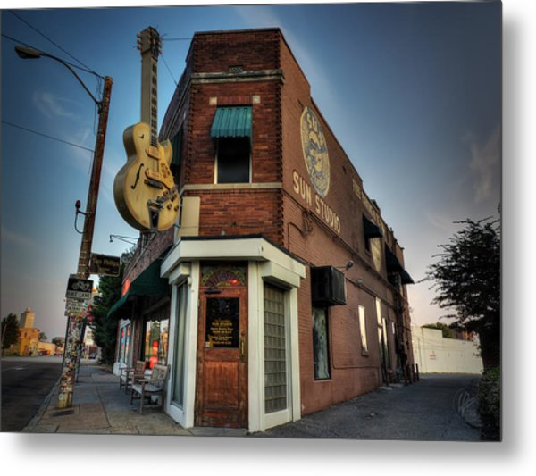The Legendary Sun Studio 002 Metal Print