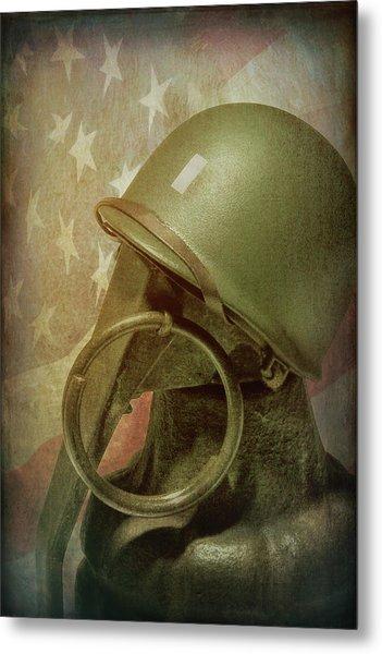 The Lieutenant Metal Print