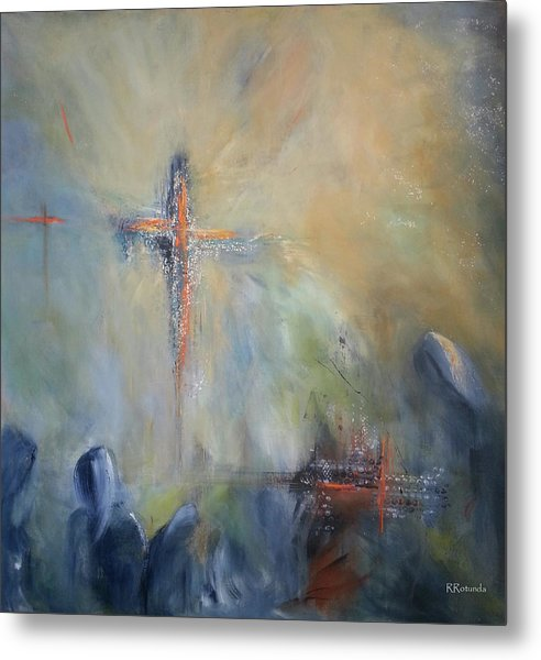 The Light Of Christ Metal Print