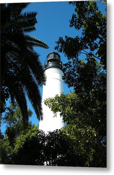The Lighthouse Metal Print by Audrey Venute