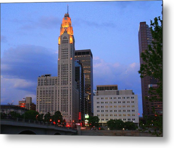 The Lincoln Leveque Tower Metal Print