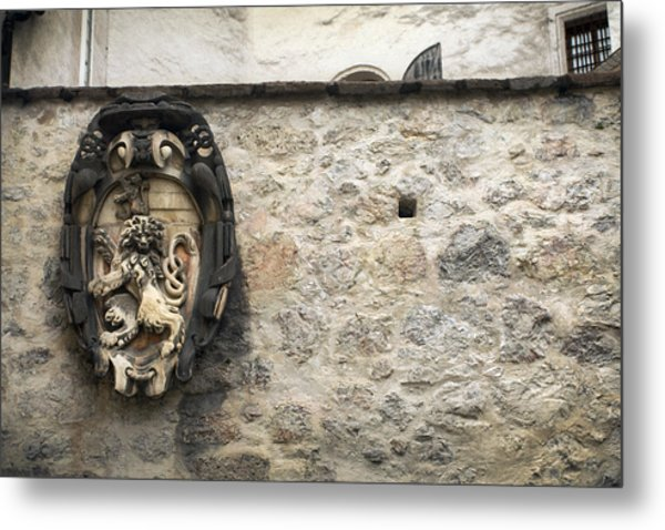 The Lion Of Salzburg Metal Print