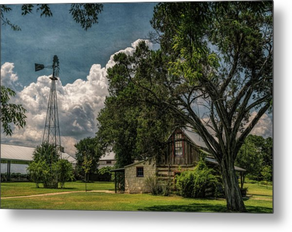 The Little Winery In Stonewall Metal Print