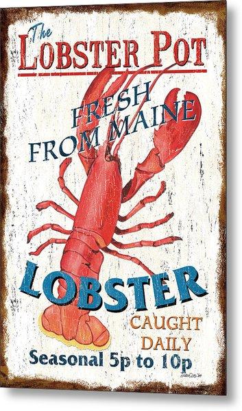 The Lobster Pot Metal Print