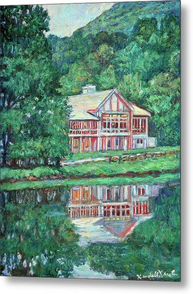 The Lodge At Peaks Of Otter Metal Print