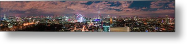 The London Skyline Metal Print