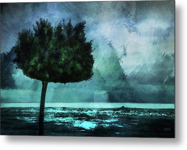 The Lonely Tree Metal Print by Declan O'Doherty