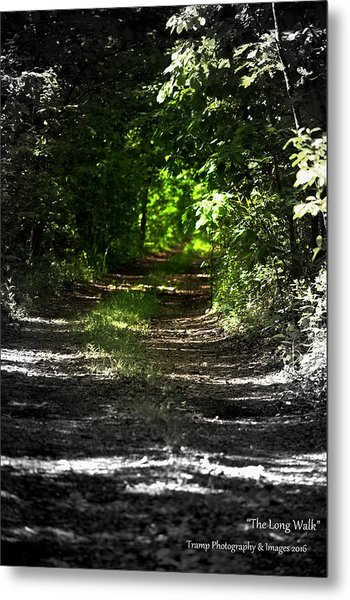 The Long Walk Metal Print