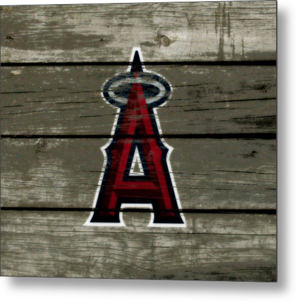 The Los Angeles Angels Of Anaheim 1a Metal Print