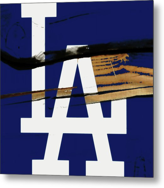 The Los Angeles Dodgers 1w Metal Print