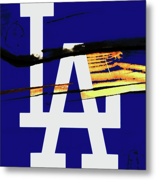 The Los Angeles Dodgers 2w Metal Print