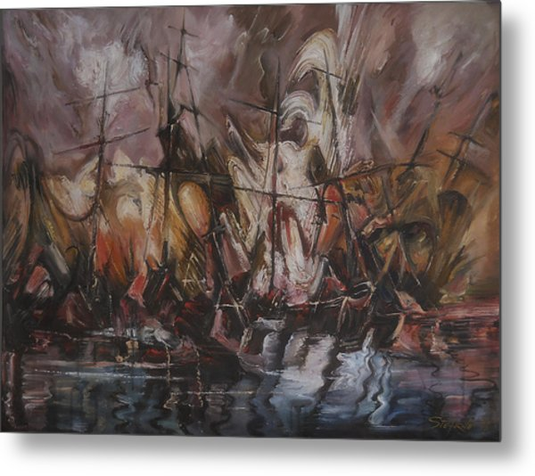 The Lost Armada IIi Metal Print