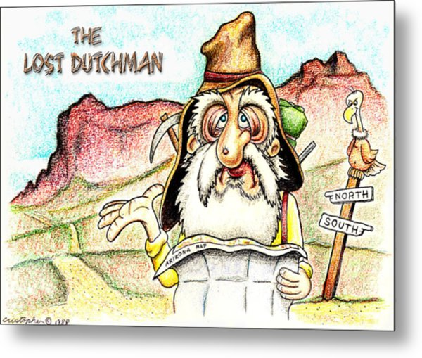The Lost Dutchman Metal Print