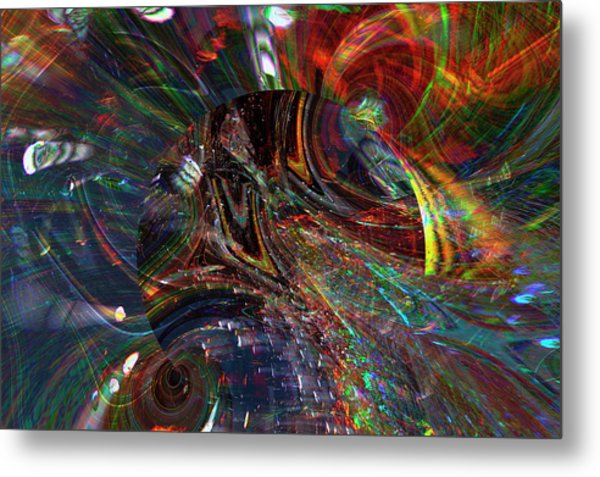 The Lucid Planet Metal Print