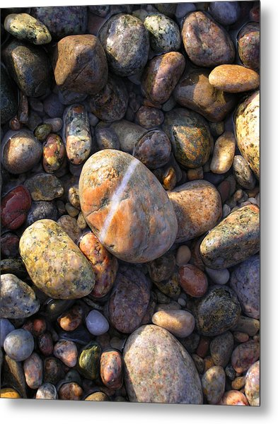 The Lucky Rock Metal Print