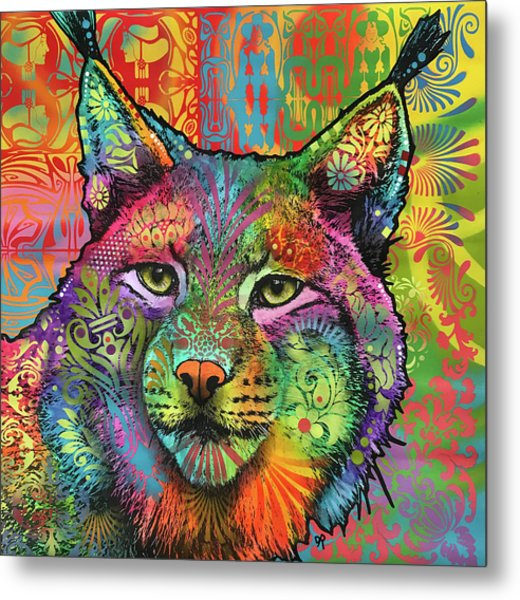 The Lynx Metal Print by Dean Russo Art