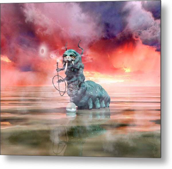 The Madness Of It All Metal Print