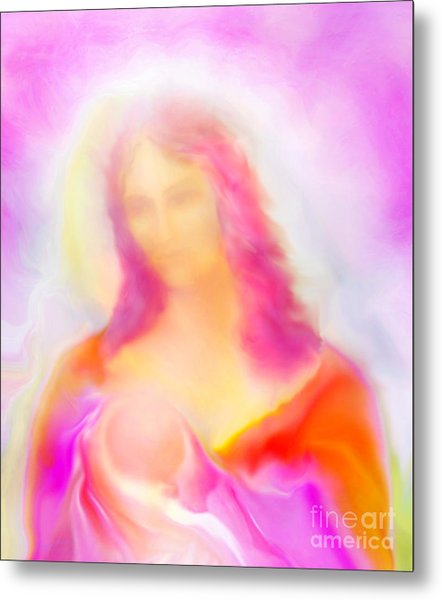 The Madonna Of Compassion Metal Print