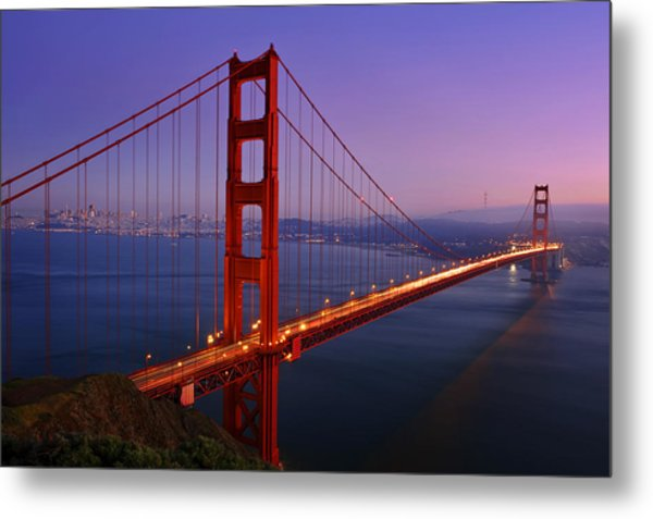 The Magic Bridge Metal Print