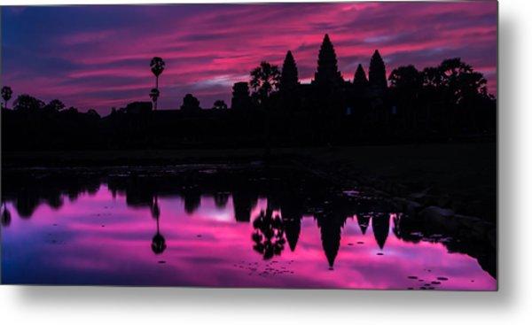 The Magic Of Angkor Wat Metal Print