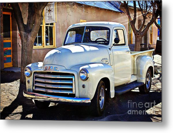 The Magic Of The 1949 Gmc 100 Metal Print