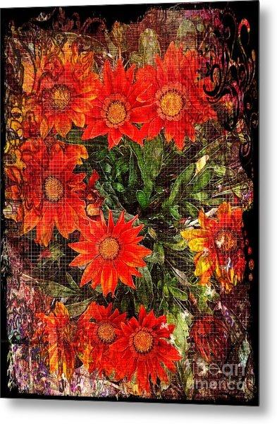 The Magical Flower Garden Metal Print