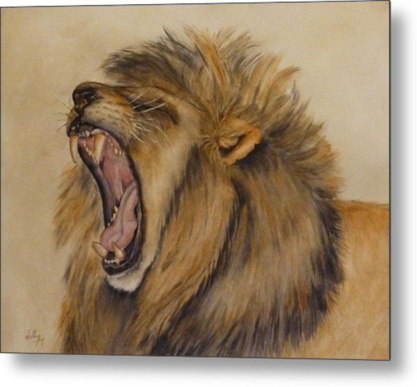 The Majestic Roar Metal Print
