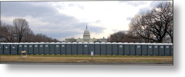 The Mall Washington Dc Metal Print by Wayne Higgs