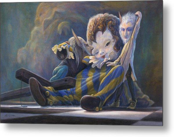 The Marionette Metal Print by Leonard Filgate