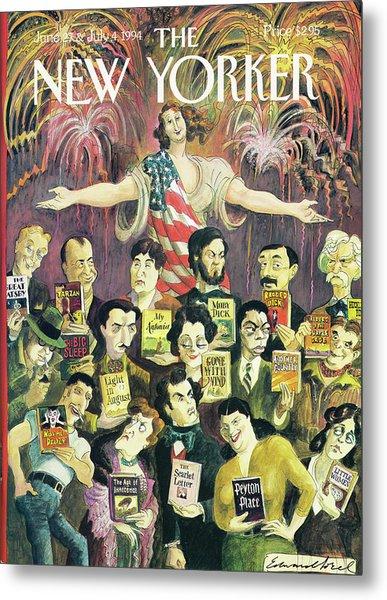 New Yorker June 27th, 1994 Metal Print