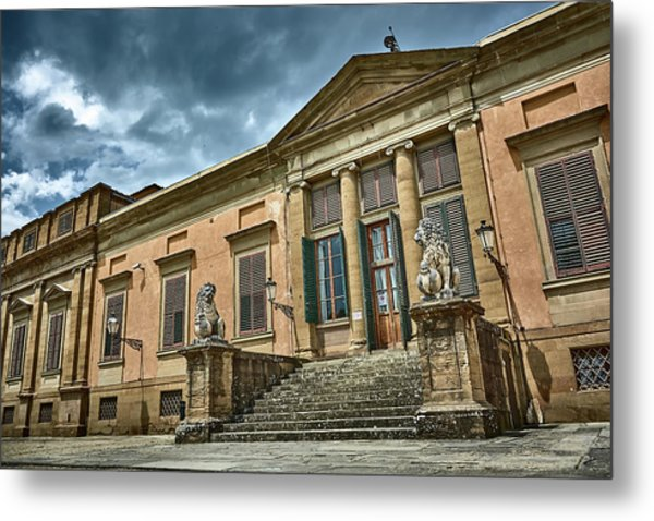 The Meridian Palace In The Pitti Palace Metal Print