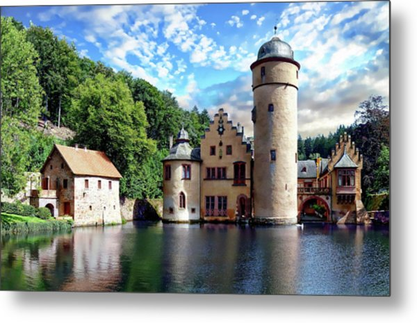 The Mespelbrunn Castle Metal Print