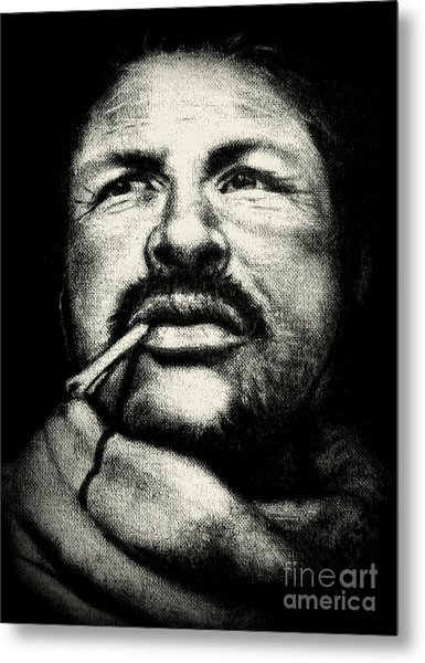 The Mexican Metal Print