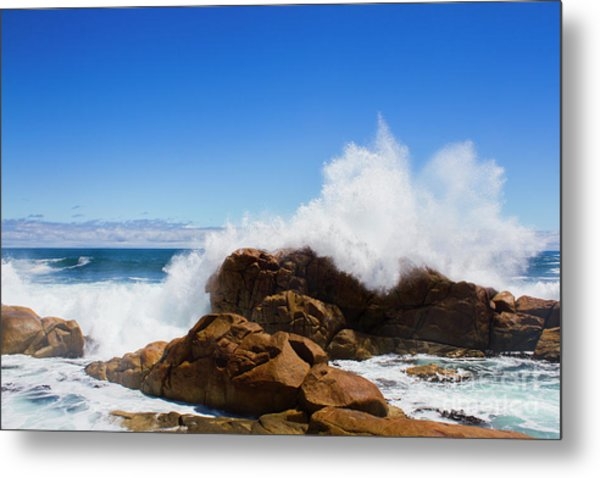 The Might Of The Ocean Metal Print