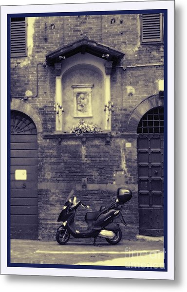 The Mighty Vespa Metal Print