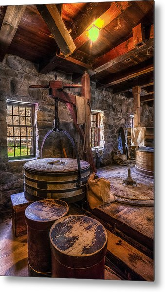 The Milling Room Metal Print