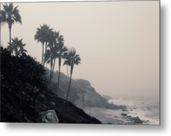 The Mists Of Laguna Beach Metal Print