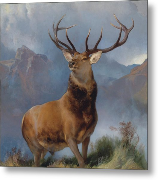 The Monarch Of The Glen Metal Print