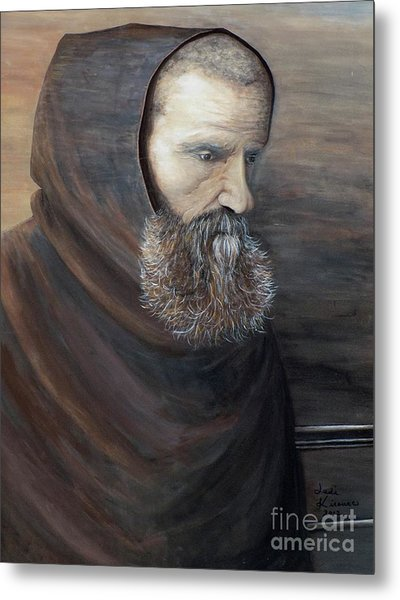 The Monk Metal Print