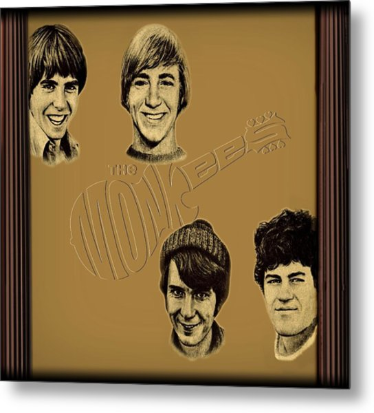 The Monkees  Metal Print