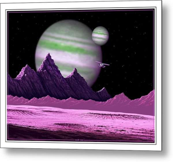 The Moons Of Meepzor Metal Print