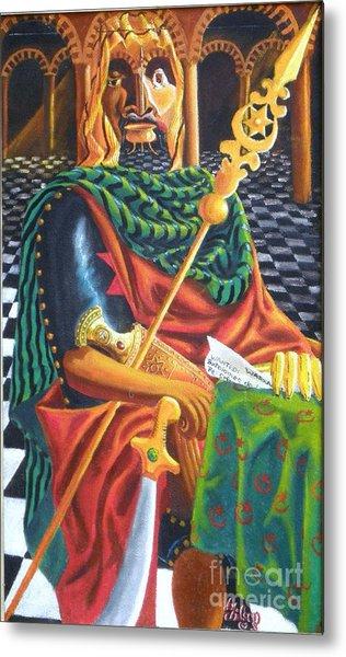 The Moorish General  Othello Metal Print