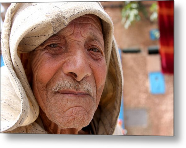 The Moroccan Man Metal Print by Jason Hochman