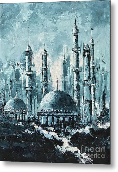 The Mosque-2 Metal Print