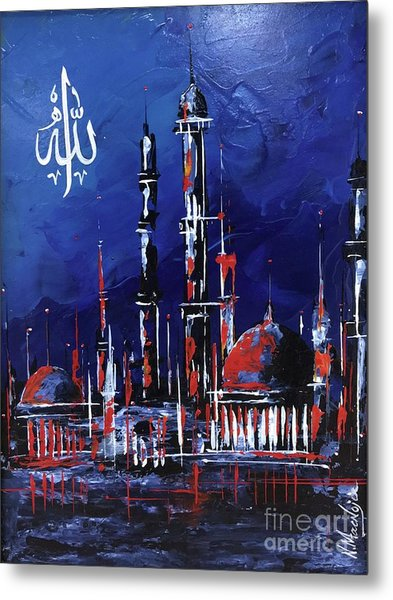 The Mosque-4 Metal Print