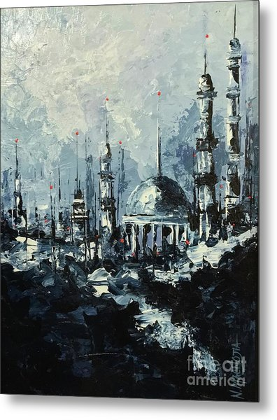 The Mosque Metal Print